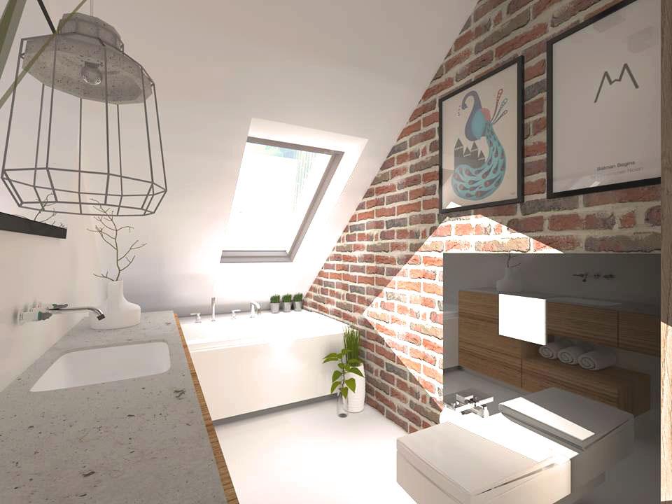 Aranżacja łazienki loft