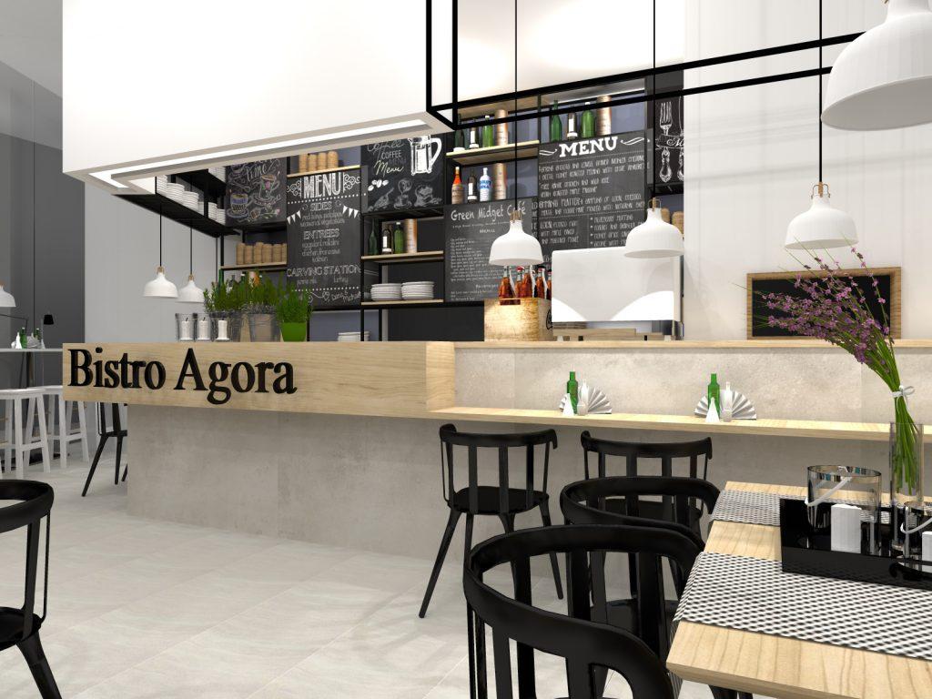 Bistro architekt Agora Bytom