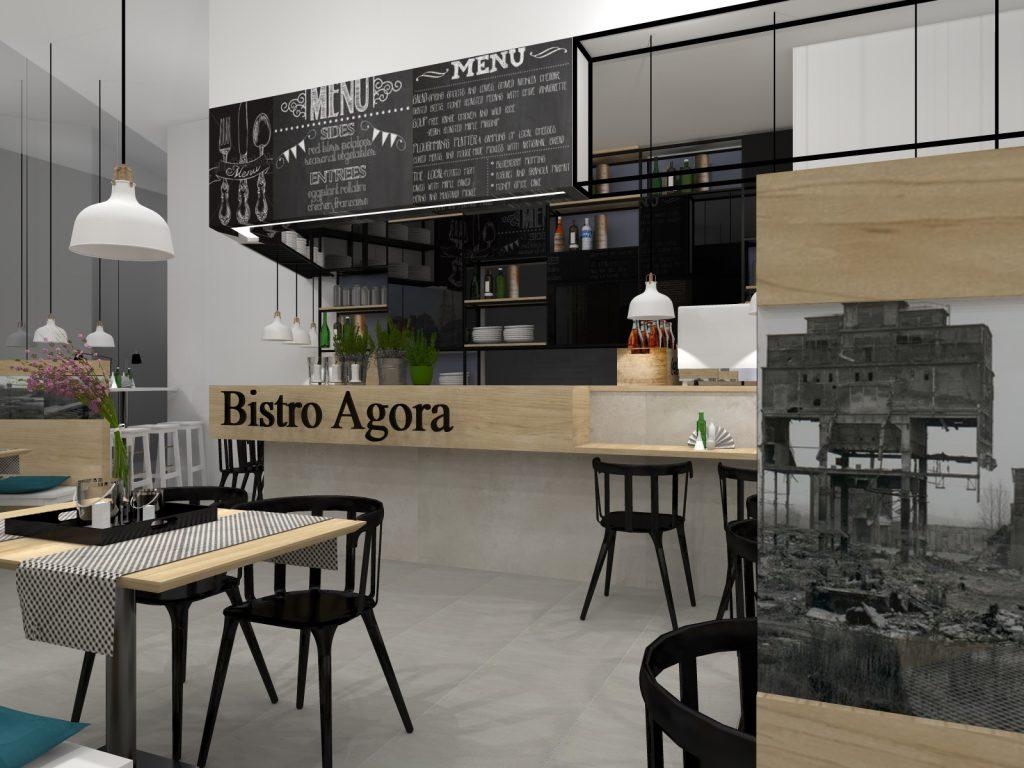 Bistro centrum handlowe Agora