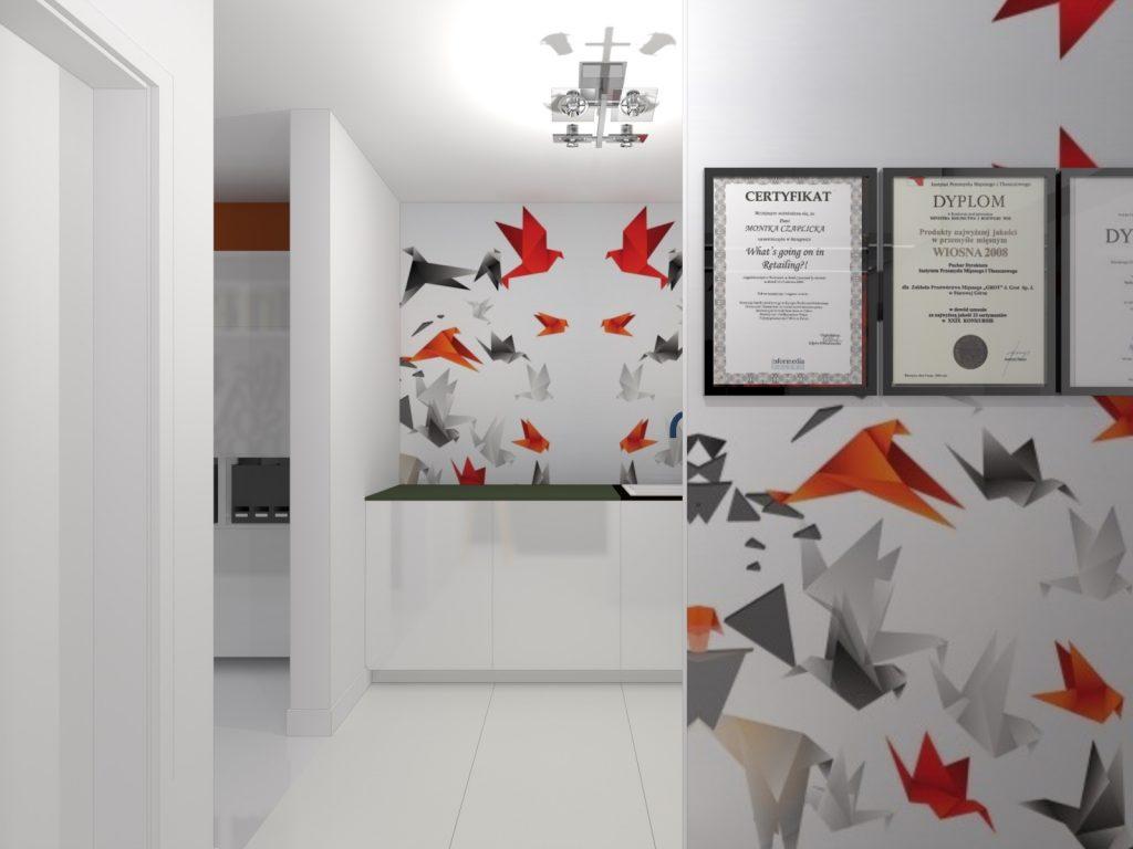 Projekt biura w Katowicach