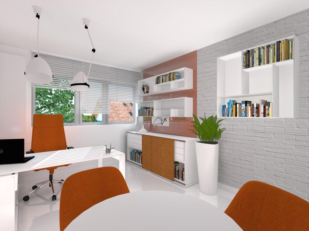 Architekt biuro wnętrze