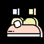 Ilustracja łóżka