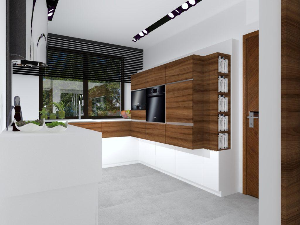 Kuchnia w luksusowym wnętrzu