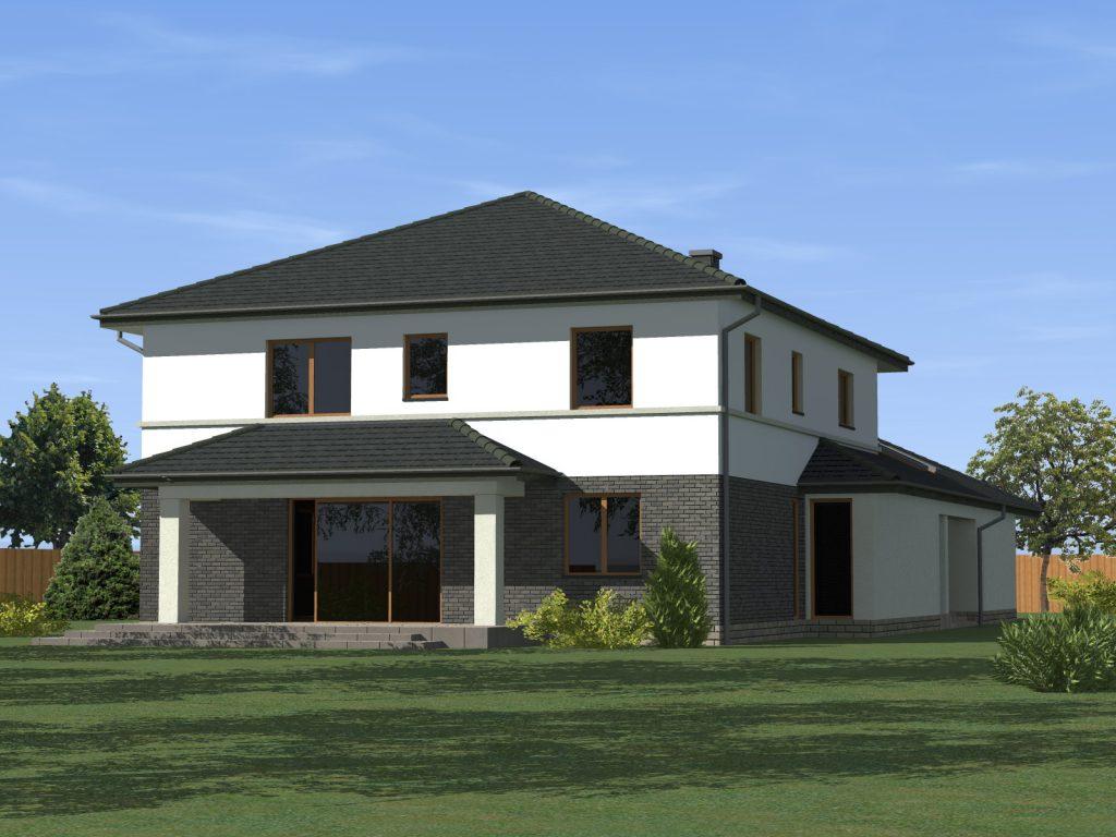 Jednorodzinny luksusowy dom