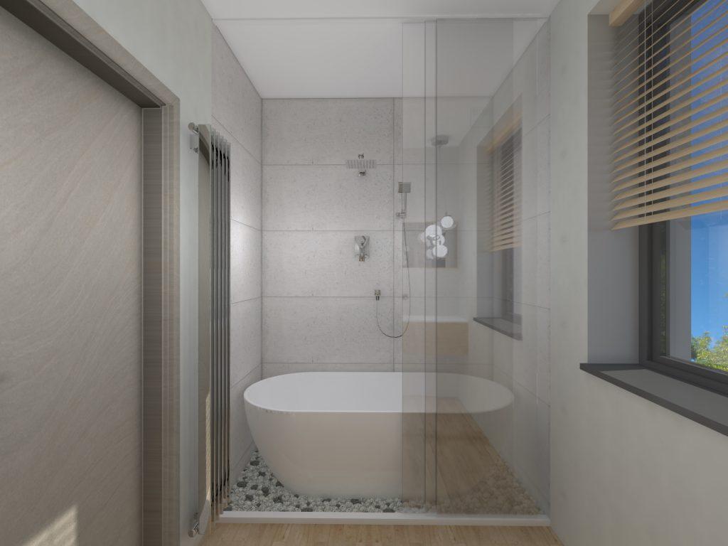 Projekt architektoniczny łazienki