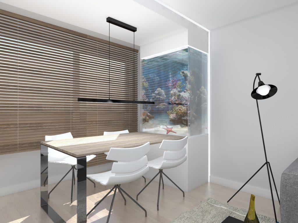 Projekt architektura salonu