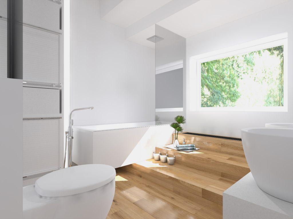 Nowoczesne wnętrza łazienka