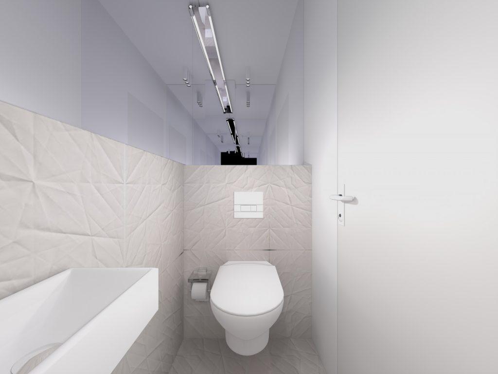 Nowoczesne wnętrza WC
