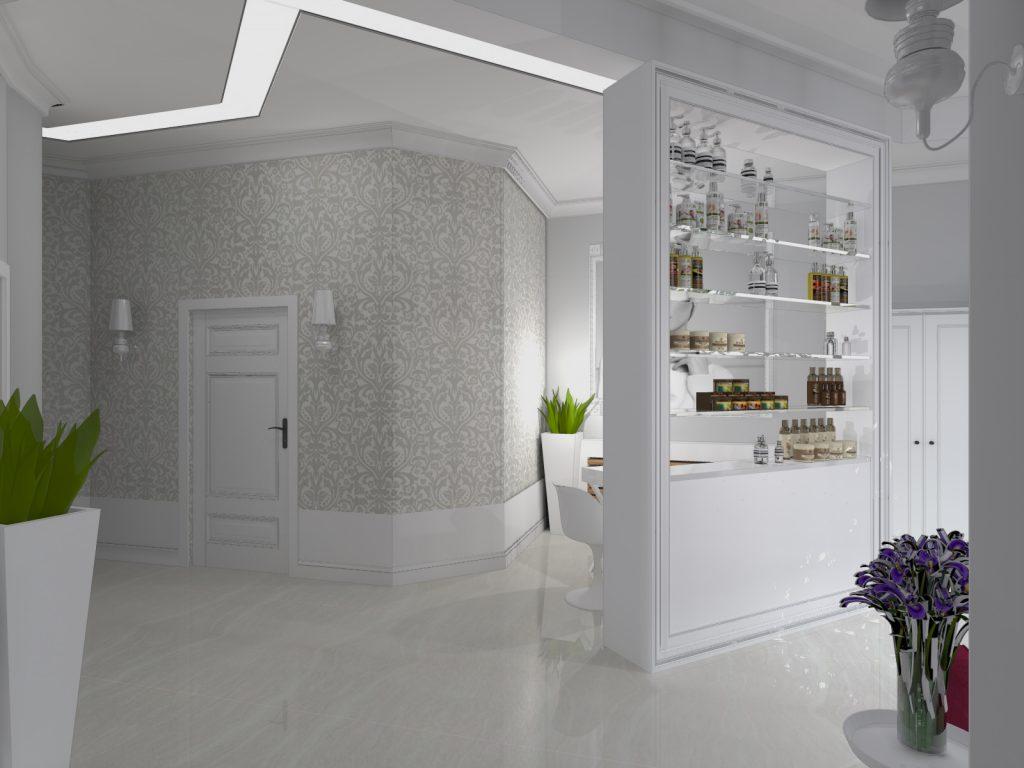 Projekt salonu kosmetycznego Katowice