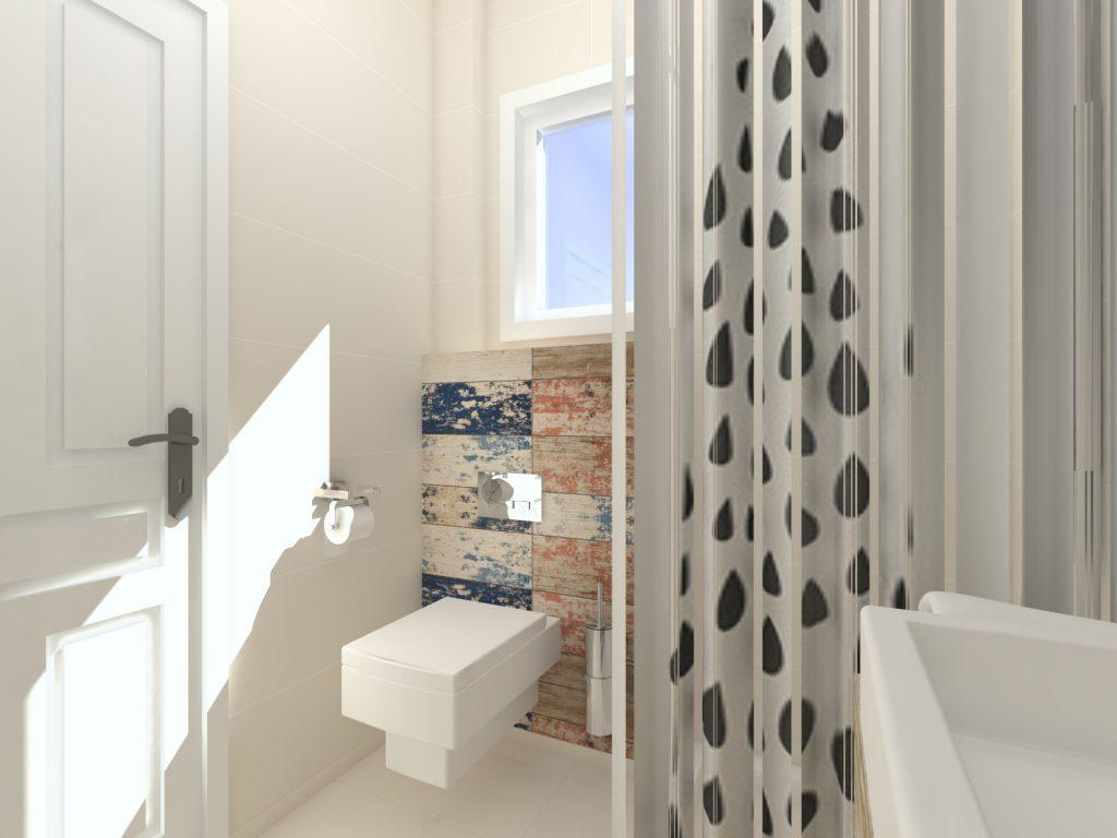 Projekt łazienki Korfu