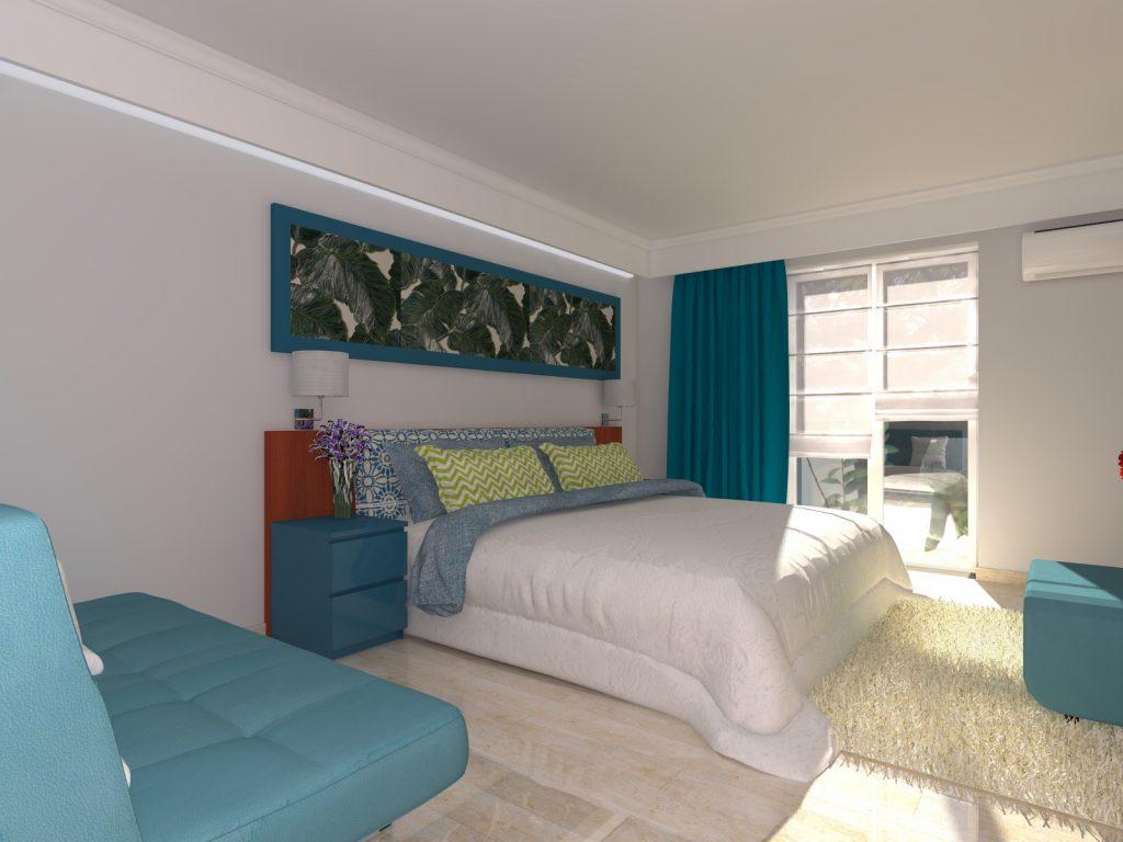 Projekt apartamentu na Lefkadzie